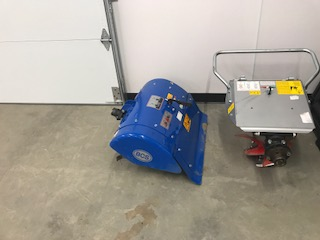 Rotary plow and Rear Tine Tiller
