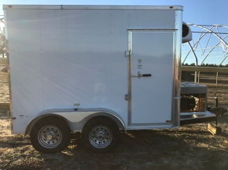 6x10 Cold storage refrigerator trailer